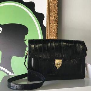 Handbags - Eel Skin Vintage Shoulder Bag